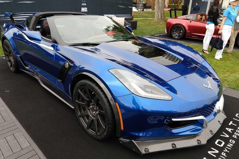 Electric Corvette Genovation Gxe Shown At Monterey Car Week 26 Nov 18